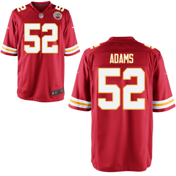 Tyrell Adams Youth Nike Kansas City Chiefs Limited Red Jersey