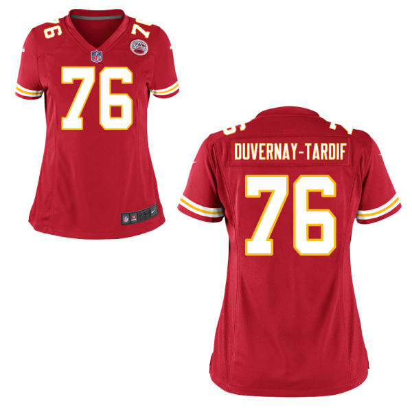Laurent Duvernay-tardif Women's Nike Kansas City Chiefs Limited Red Jersey