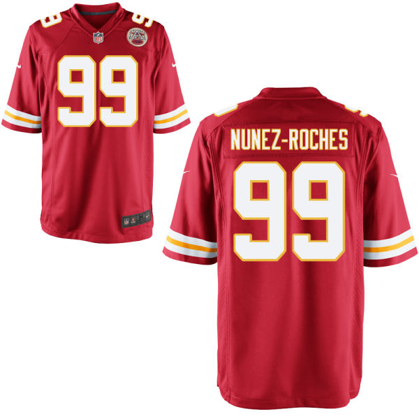 Rakeem Nunez-roches Youth Nike Kansas City Chiefs Game Red Jersey
