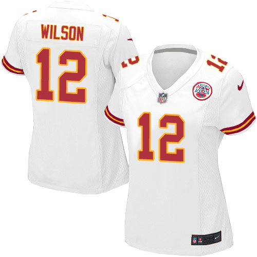 Albert Wilson Women's Nike Kansas City Chiefs Game White Jersey
